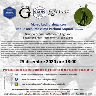 L'ACBLL presenta Marco Lodi dialoga con il  cap.le arch. Massimo Parboni Arquati | Gruppo di combattimento Legnano