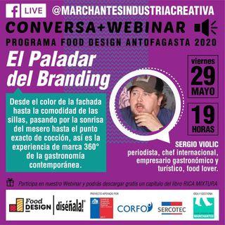 El Paladar del Branding | Food Design DISÉÑALA #02