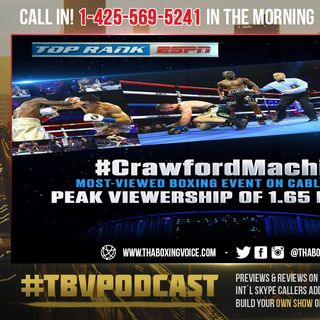 ☎️Crawford Saturday ESPN TV Ratings FLOPPED😱HEARN Claims Jacobs-Chavez Double Crawford Ticket Sales