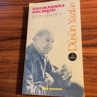 """Halikarnas Balıkçısı, """"Zeybekler"""" yazısından [Düşün Yazıları, s.84-85]"""