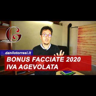 IVA Agevolata per il BONUS FACCIATE 2020