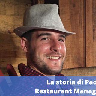 Ep.160 - La storia di Paolo Orso, Restaurant Manager a Sydney