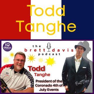 Todd Tanghe LIVE on The Brett Davis Podcast EP 284