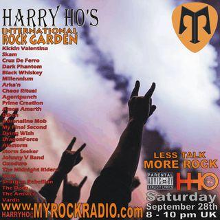 Harry Ho's intern. Rock Garden 28.09.2019