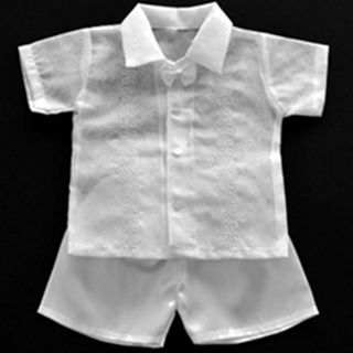 High Quality Christening barong Tagalog for Boy Kids Barongs R us