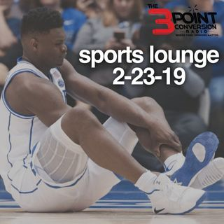 The 3 Point Conversion Sports Lounge- Robert Kraft In Trouble, The Zion Affect, Atlanta Hawks In The Spotlight, NBA Time, MLB Upcoming