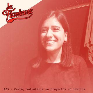 05 - Carla, voluntaria en proyectos solidarios