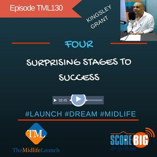 The Surprising 4 Stages To Success | Kingsley Grant | Episode TML130