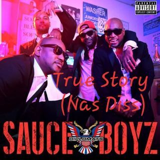 Cam'Ron Feat. Juelz Santana & Jim Jones - True Story (Nas Diss)