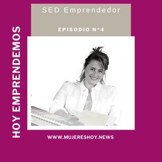 """Ep 4: Sandra Dobal: """"El emprendedor nace por un detonante"""""""