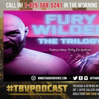 ☎️Fury vs Wilder 3:🏆 The Gypsy King vs The Pretender❓Fury BIAS🧐 👑 Glory vs Redemption❗