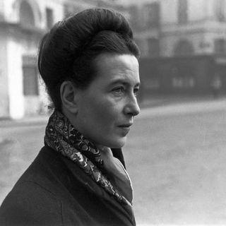 Café Bleu - Scrittori sopra le righe - Simone de Beauvoir