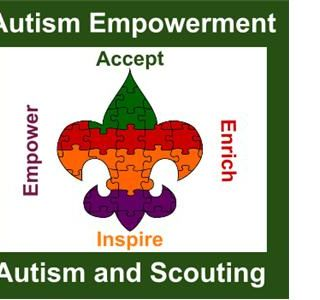 Autism Acceptance month at Autism and Scouting