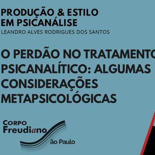O perdao no tratamento Psicanalitico - consideracoes metapsicologicas