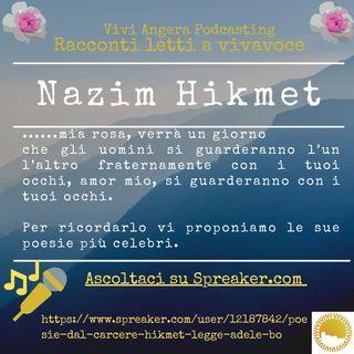 Poesie dal carcere hikmet( legge Adele Boari)