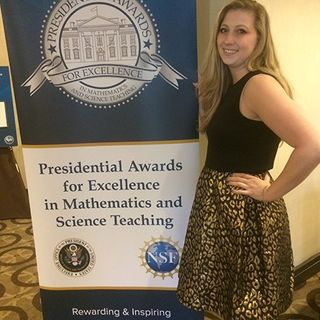 Merrimack Valley Math Teacher Wins Presidential Excellence Award