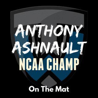 NCAA champion Anthony Ashnault of Rutgers- OTM565