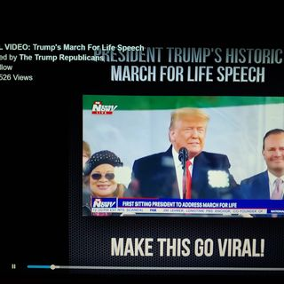 Trump 1st President March For Life 2020 And More