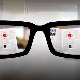 Autofocusing reading glasses of the future | Nitish Padmanaban