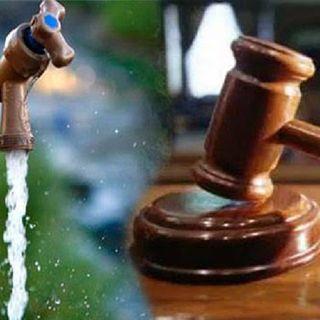 Suspensión para abastecer Agua en emergencia del Coronavirus