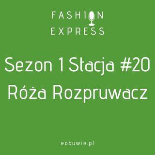 Sezon 1 Stacja 20: Agnieszka rozmawia z Różą Rozpruwacz o urokach szycia | FashionExpress