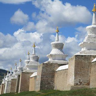 108 stupa