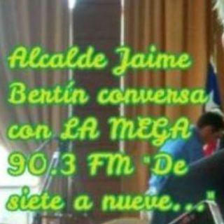 ALCALDE JAIME BERTIN Conversa con LA MEGA 90.3 fm de Osorno