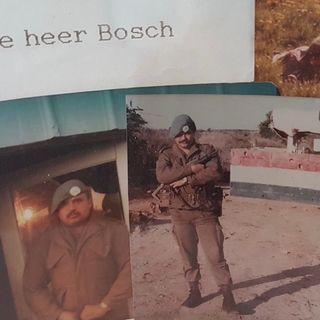 Libanon Veteraan Ed Bosch over zijn carriere en boek