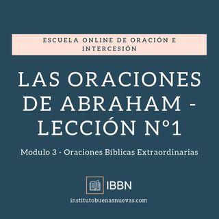 Las oraciones de Abraham