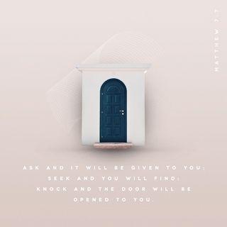 Episode 201: Matthew 7:7 (July 23, 2018)