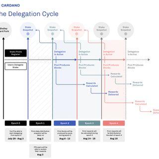 Understanding Cardano delegation cycle easy peasy trick