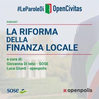 La riforma della finanza locale
