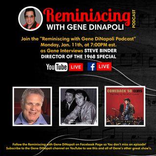 Steve Binder interview with Gene DiNapoli