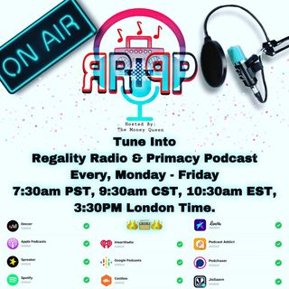 Episode 5   environmental exposure, addiction and life experiences - Regality Radio With Primacy Podcast
