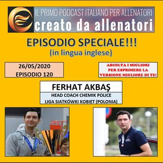 Episodio 120: Ferhat Akbaş (english)
