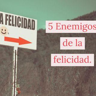 Los 5 Enemigos de la Felicidad.