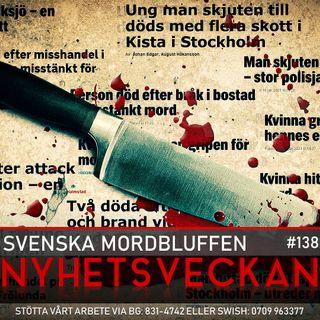 Nyhetsveckan #138 – Svenska mordbluffen, Saltkråkan blir Salafistkråkan, Jonna Sima bortgjord