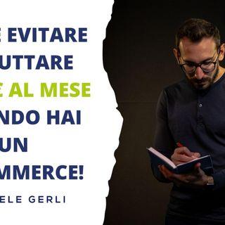 I costi di un e-commerce: come evitare di buttare 4400€ al mese!