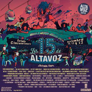 ¿Ya sabe qué ver en Altavoz 2018?