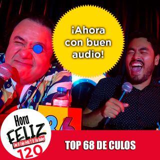 La Hora Feliz 120: Top 68 de Culos