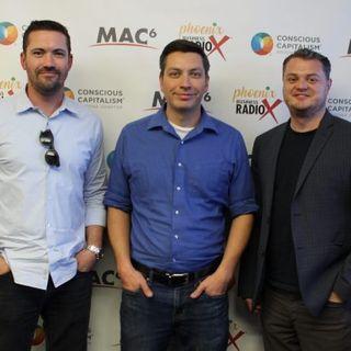 ARIZONA GOOD BUSINESS Matthew Clyde and Joel Eberhart with Ideas Collide