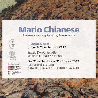 """Mario Chianese """"Il tempo, la luce, la terra, la memoria"""""""