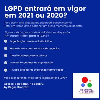 Mentoria em LGPD - Cuidados com as contratações
