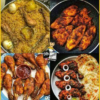 Different Varieties Of Food