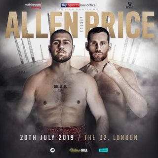 ☎️Dave Allen vs. David Price🔥Live Fight Chat❗️