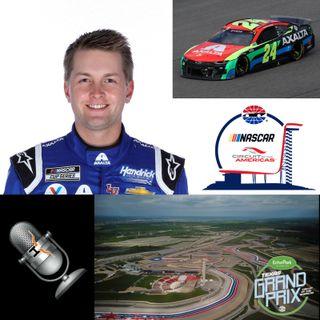 William Byron NASCAR At COTA May 12 2021