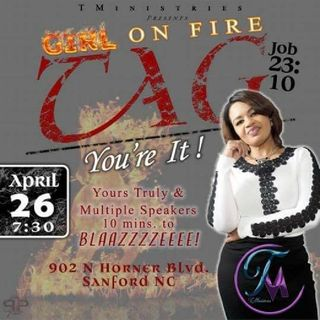 Girl On Fire - Tag You're It Sanford,NC Pt 2 - #Kiva Advancement #iheartradio