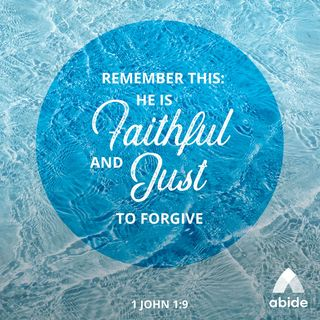 God Forgives and Cleanses You