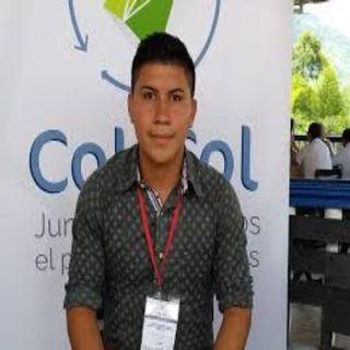 #EnlazadosXLaPaz un gran joven colombiano: Neyder Fernando Culchac