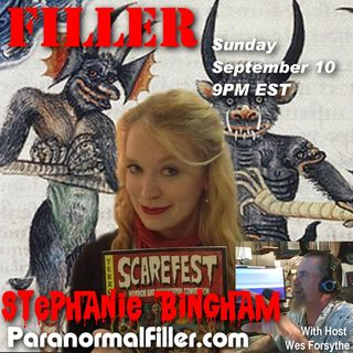 Stephanie Bingham On Paranormal Filler